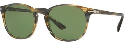 Persol 3007S Brown Striped Grey Vert BJsbJhkD