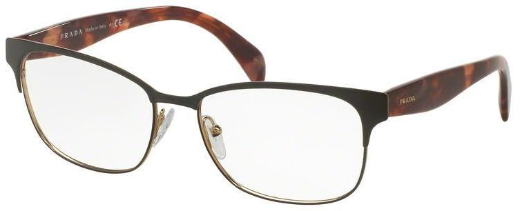 lunettes de vue prada femme pr 10fv 2bx1o1 noir garantie 1 an. Black Bedroom Furniture Sets. Home Design Ideas