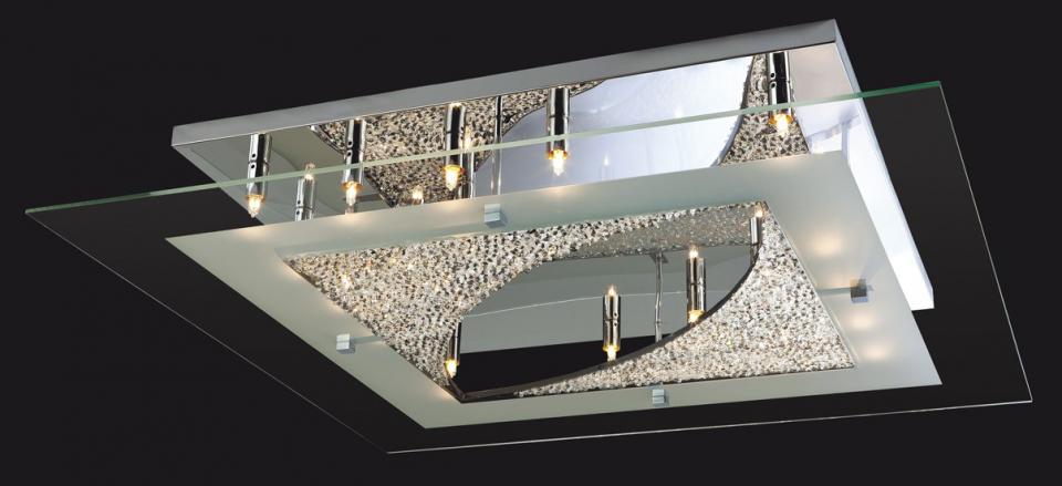 Catgorie lustre page 23 du guide et comparateur d 39 achat - Maison du verre et du cristal ...