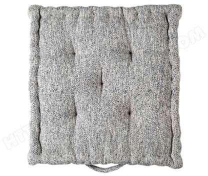 coussin bouchara en jacquard rayures horizontales design. Black Bedroom Furniture Sets. Home Design Ideas