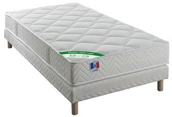 lit empilable 90x190cm sommier lattes bois sapin menil. Black Bedroom Furniture Sets. Home Design Ideas