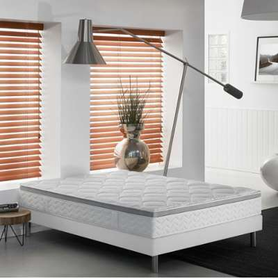 dunlopillo literie breteuil matelas sommier pieds taille 2. Black Bedroom Furniture Sets. Home Design Ideas