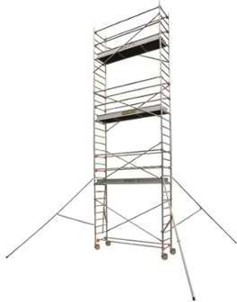 centaure echafaudage aluminium 9 9 m. Black Bedroom Furniture Sets. Home Design Ideas