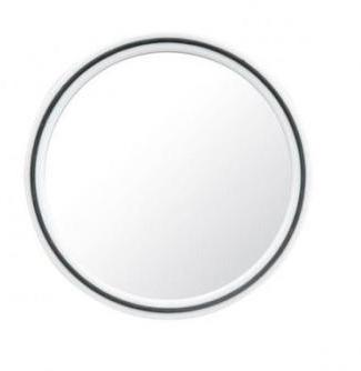 miroir rond mural design cuivre diam 30cm. Black Bedroom Furniture Sets. Home Design Ideas
