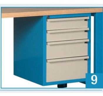outilfrance etabli bois 150 m tiroir outifrance. Black Bedroom Furniture Sets. Home Design Ideas