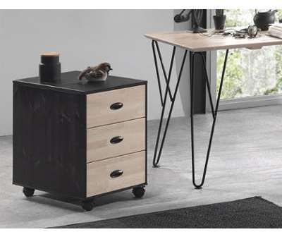 Catgorie meubles de bureau du guide et comparateur d 39 achat - Caisson de bureau en bois ...