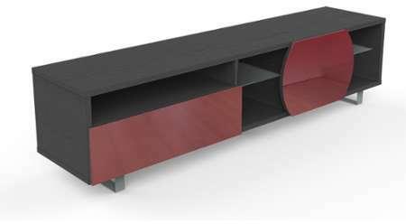Meuble Tv Rouge Design