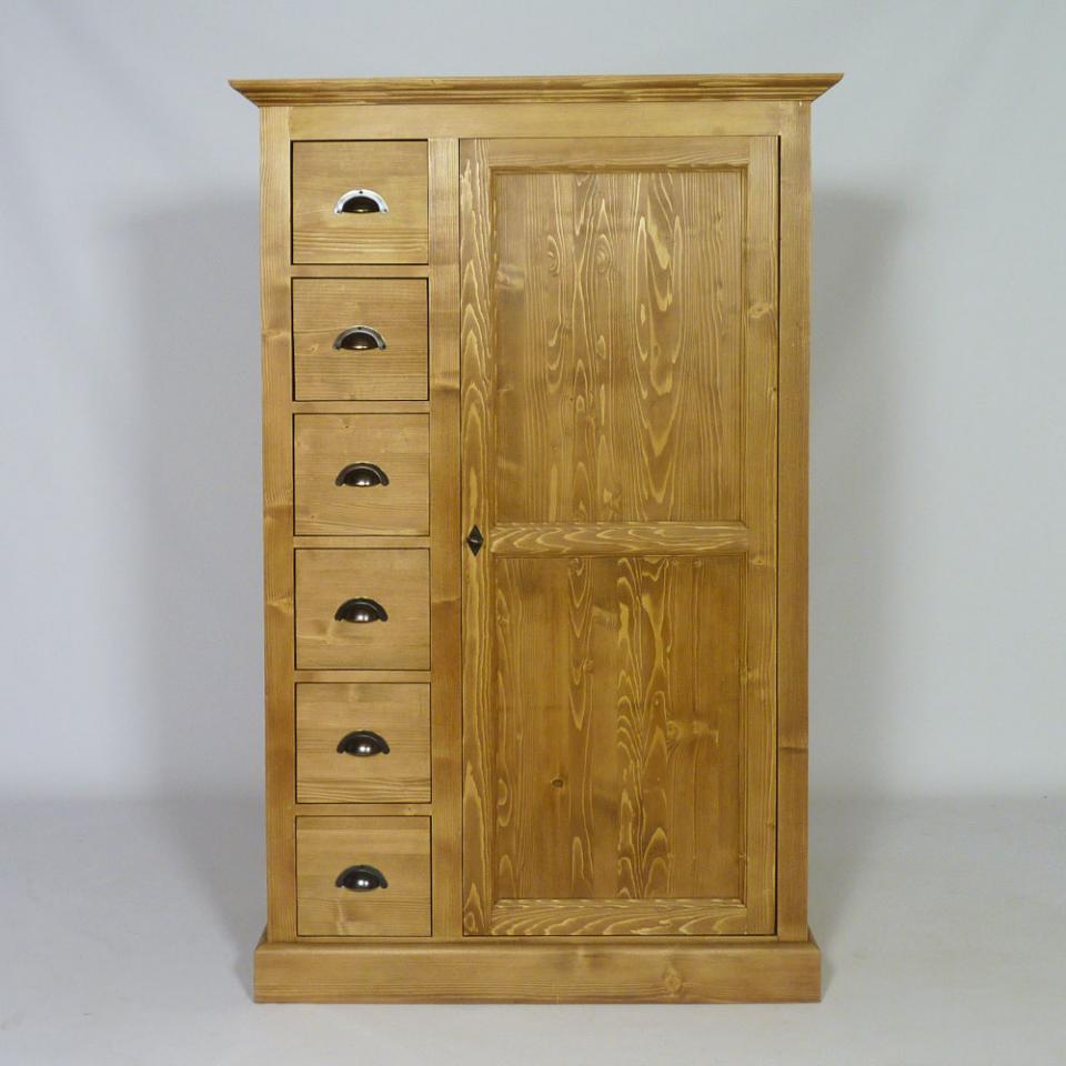 couleurs meuble dangle en pin 1 porte des alpes. Black Bedroom Furniture Sets. Home Design Ideas