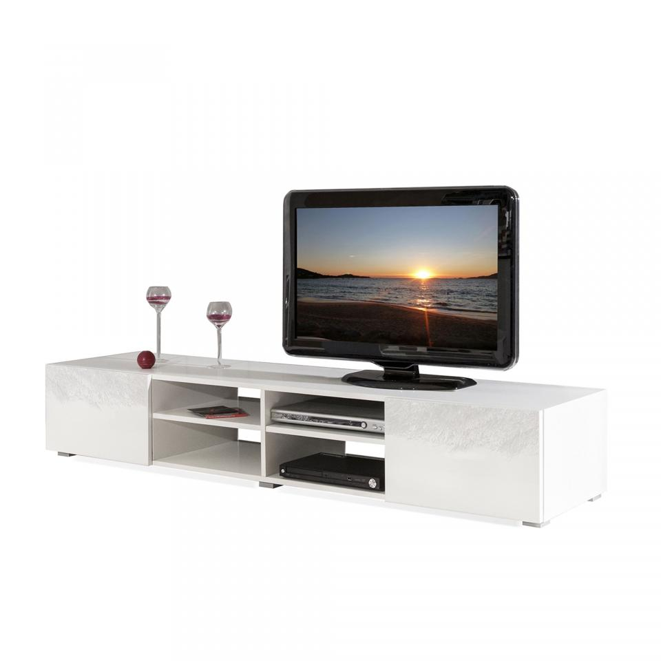 meuble tv grande taille gallery of symbiosis aa aero meuble tv panneaux de particules mlamines. Black Bedroom Furniture Sets. Home Design Ideas