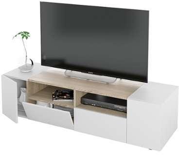 Norstone c stabbl hifi verre meuble hi fi for Basika meuble tv