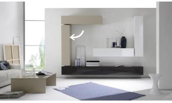 cat gorie meubles de t l vision marque miliboo com page 1 du guide et comparateur d 39 achat. Black Bedroom Furniture Sets. Home Design Ideas