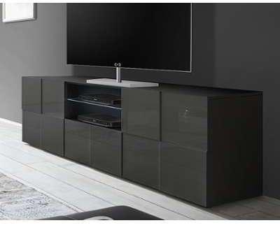 Meuble tv grand modle dcibel for Grand meuble tv design