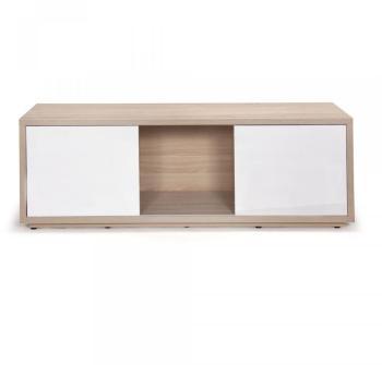 Cat gorie meubles de t l vision marque alinea page 1 du for Meuble tele blanc et chene