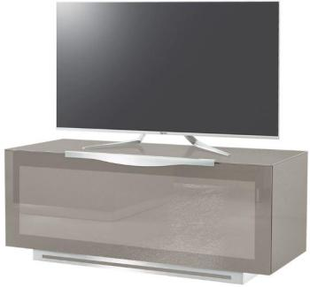 munari meuble tv paris ps 125 ps125ne noir verre. Black Bedroom Furniture Sets. Home Design Ideas