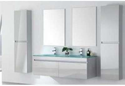 meuble salle de bain double vasque 142 cm avec 2 colonnes lea blanc Résultat Supérieur 15 Incroyable Meuble Salle De Bain Double Vasque Avec Colonne Photographie 2018 Ksh4