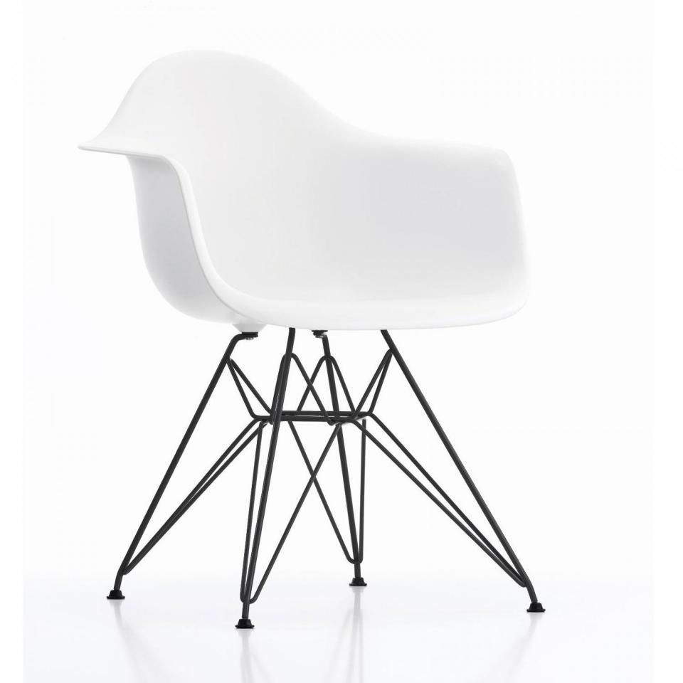 Chaise Eames Pied Eiffel: Lampe Tour Eiffel Blanc Nacre
