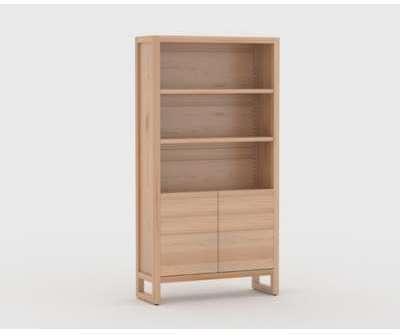 armoire 3 portes idaline vernis naturel. Black Bedroom Furniture Sets. Home Design Ideas