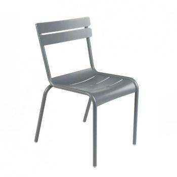 chaise haute empilable gris muscade fsc 100. Black Bedroom Furniture Sets. Home Design Ideas