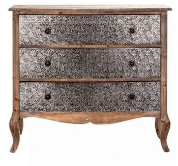 little commode longue baroque grise. Black Bedroom Furniture Sets. Home Design Ideas