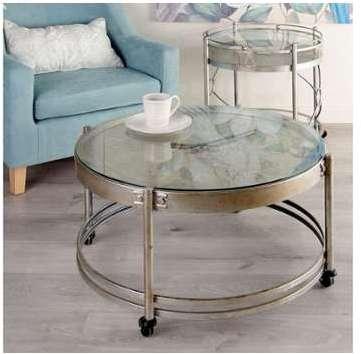 little horloge ronde m tal blanc belle poque. Black Bedroom Furniture Sets. Home Design Ideas