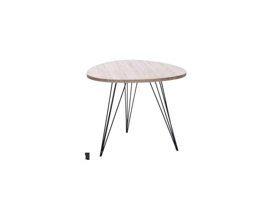 hudson cdouchette ronde r tro reed. Black Bedroom Furniture Sets. Home Design Ideas