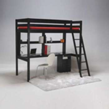 lit studio loft. Black Bedroom Furniture Sets. Home Design Ideas