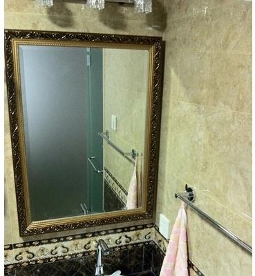 Catgorie miroir page 4 du guide et comparateur d 39 achat - Miroir salle de bain bois ...