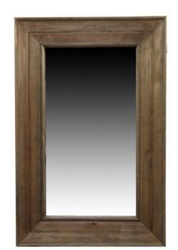 Catgorie miroir du guide et comparateur d 39 achat for Miroir rectangulaire bois