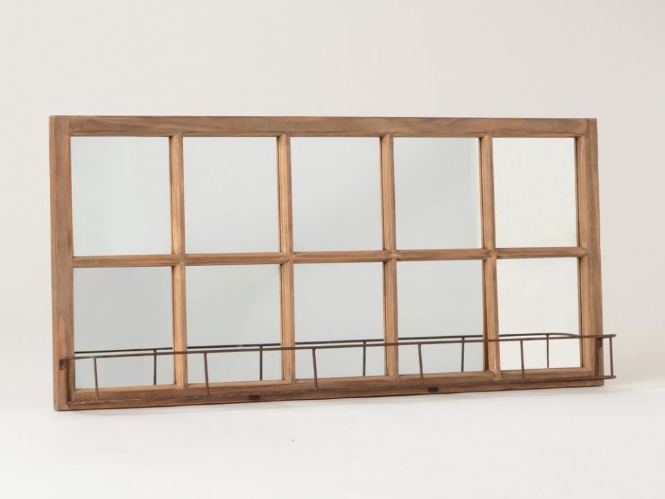 Catgorie miroir page 5 du guide et comparateur d 39 achat for Miroir mural rectangulaire bois