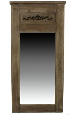 Cat gorie miroir du guide et comparateur d 39 achat for Grand miroir rectangulaire bois