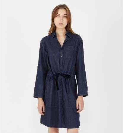 Robe chemise denim coton d 7424b0e06d11