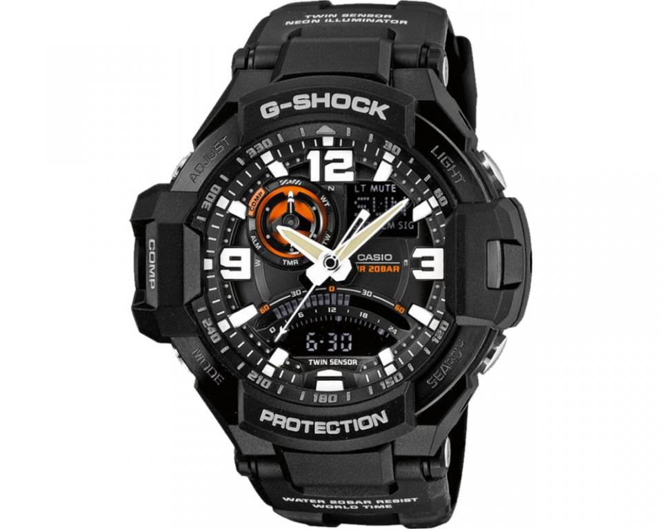 montre casio g shock premium ga 1000 1aer pour homme. Black Bedroom Furniture Sets. Home Design Ideas