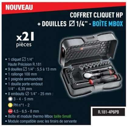083000d3b14bf Facom COFFRET DE DOUILLES STANDARD 1 2 S.6PB