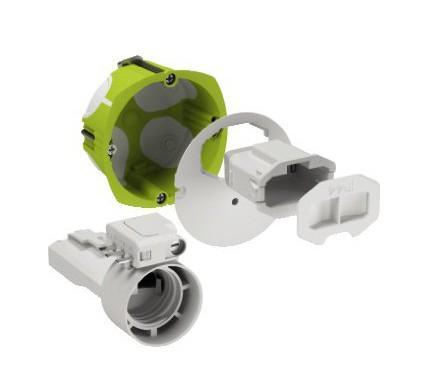 Schneider cboite applique dcl etanche multifix air avec dou - Applique etanche pour douche ...