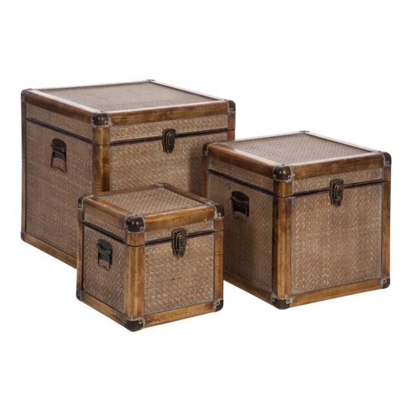 malle en bois brut boites with malle en bois brut coffre de pirate xx cm bil with coffre. Black Bedroom Furniture Sets. Home Design Ideas