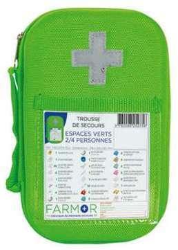 Farmor c pochette de secours individuelle cri3030tp for Abc espace vert