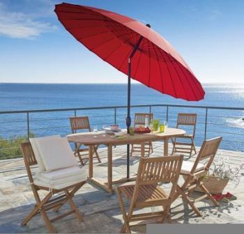 Catgorie parasol page 9 du guide et comparateur d 39 achat - Mobilier jardin rouge besancon ...