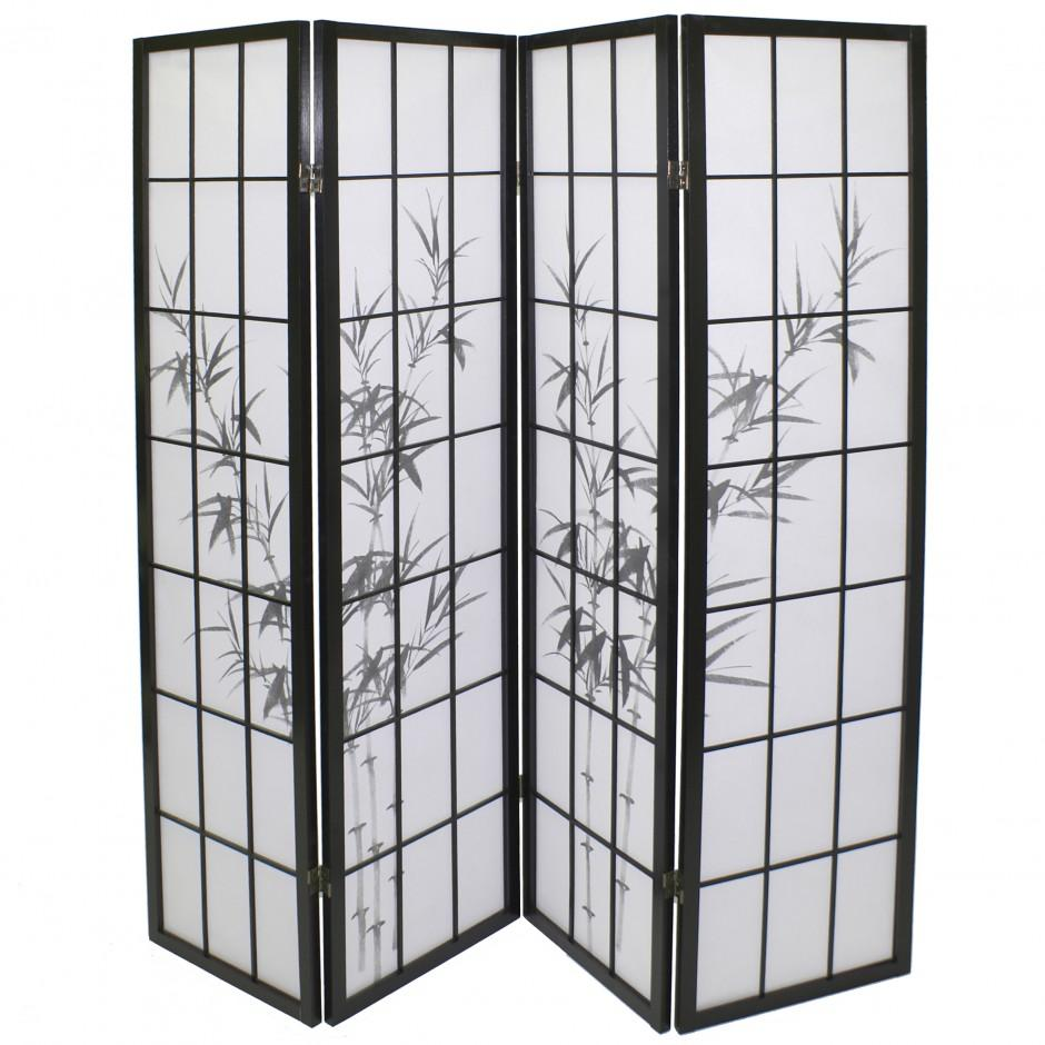 awesome panneau japonais bambou gallery. Black Bedroom Furniture Sets. Home Design Ideas