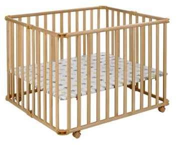 geuther parc pliable bois naturel euro parc 102x102 tapis. Black Bedroom Furniture Sets. Home Design Ideas