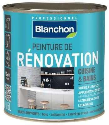 Blanchon c protecteur terrasses anti uv 5l for Peinture cuisine et salle de bain hubo
