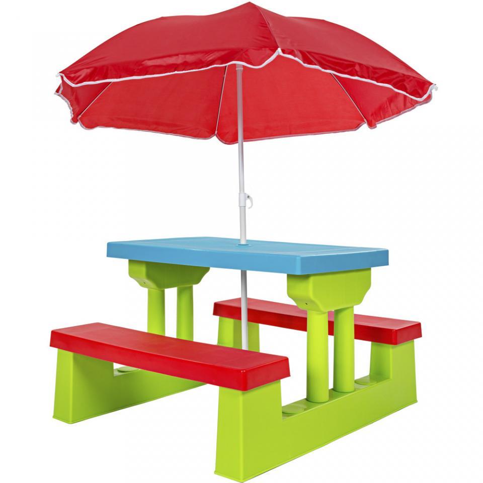 Pinolino table bancs avec dossier sepp - Table de mixage pour enfant ...