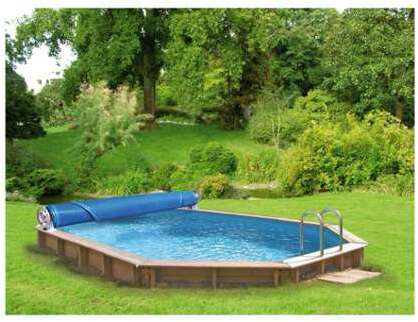 Bâche Waterclip Compatible Jolo PISCINEO piscines Luxe Verte nwN0m8