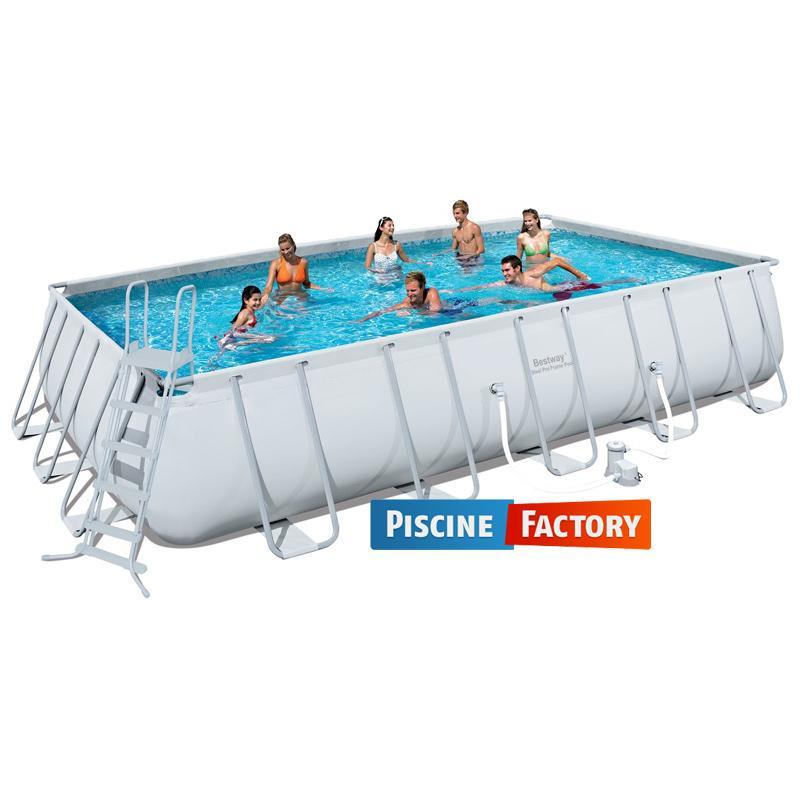 Catgorie piscine et accessoire du guide et comparateur d 39 achat for Piscine tubulaire rectangulaire bestway