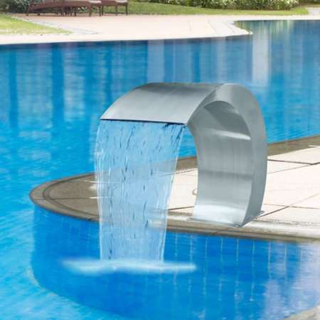 Sunshine grande fontaine cascade nature yukino jin for Accessoire piscine 69