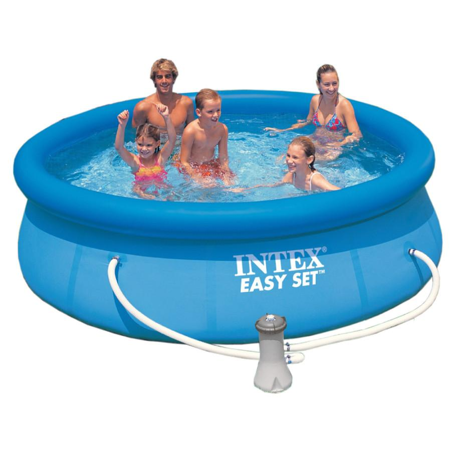 Intex c piscine easy set 183x51 cm for Easy piscine