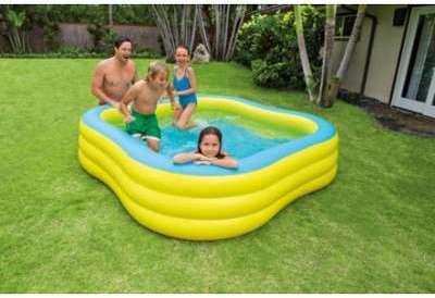 Catgorie piscine gonflable du guide et comparateur d 39 achat for Piscine intex carre
