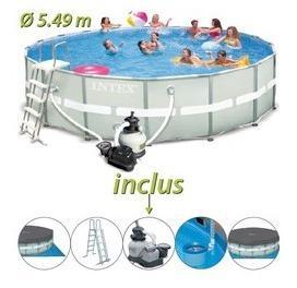 Catgorie piscine et accessoire page 2 du guide et for Piscine hors sol ultra frame 7 32 x 3 66 m intex