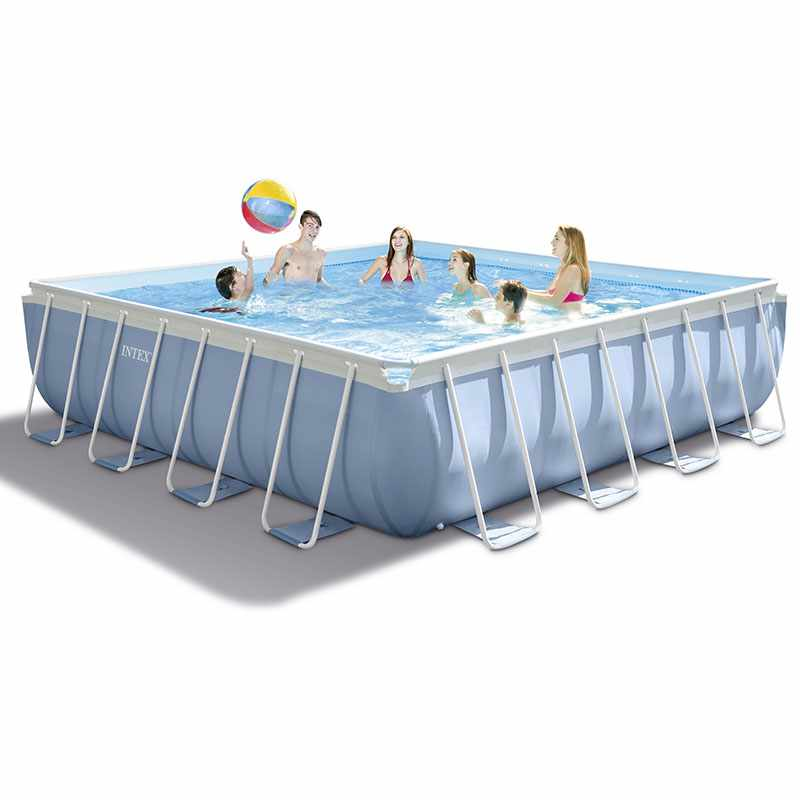 Liner pour piscine intex ultra silver tubulaire for Piscine tubulaire ovale intex