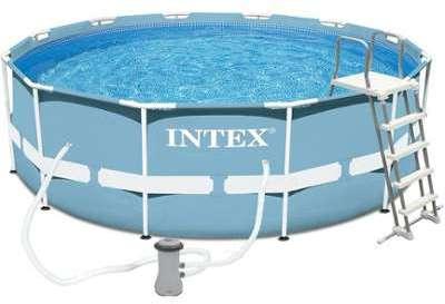 Cat gorie piscine page 4 du guide et comparateur d 39 achat for Piscine ovale intex 6 10 x 3 66 x1 22m