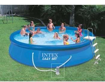 piscine intex easy set 396 x h084m. Black Bedroom Furniture Sets. Home Design Ideas